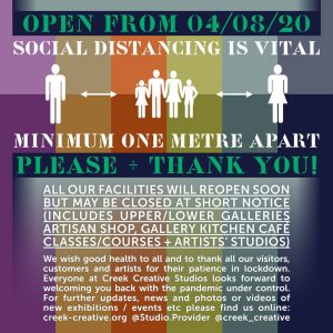 Open Soon Social Distance